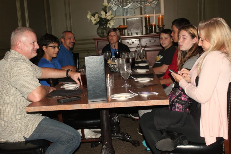 GA Family Services hosted its graduation for the Accountability and Responsibility Program. Five kids completed the eight week program and were treated to dinner at Landmark Restaurant. P-J photo by Jordan Patterson