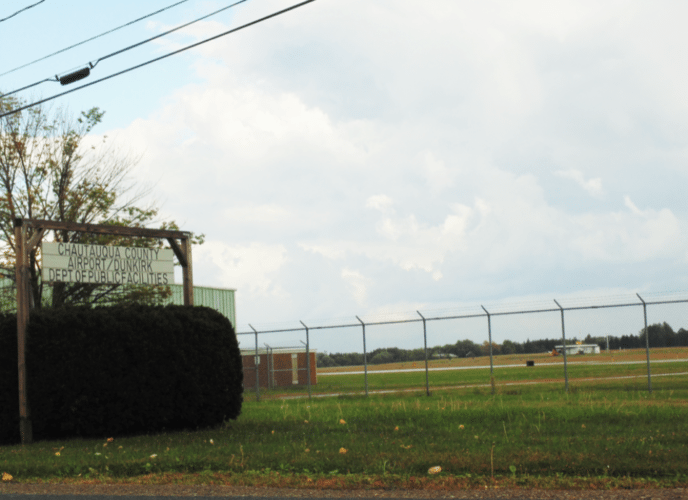 Dunkirk Aviation and Sales Inc., is ending aircraft maintenance and service at the Dunkirk Airport effective Oct. 31. County Executive Vince Horrigan said he's been in talks with two fixed-base operators to take over service at the airport. Photo by Jimmy McCarthy