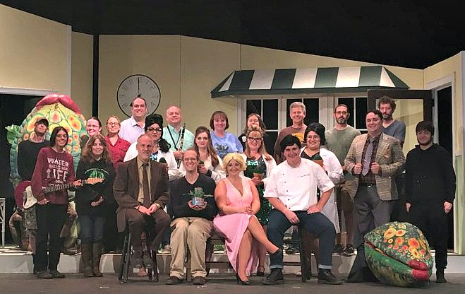 """The Lucille Ball Little Theatre will present """"Little Shop of Horrors"""" over the coming weekends. Performances will be staged at 7:30 p.m. Friday; Saturday; Friday, Oct. 13; and Saturday, Oct. 14. Matinee performances will be at 2:30 p.m. Sunday and Sunday, Oct. 15. Submitted photo"""