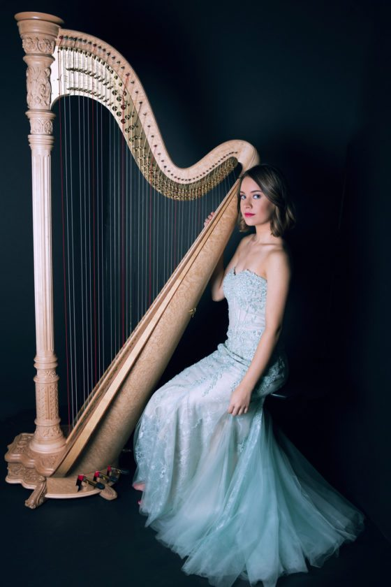 Katherine Siochi, an award-winning harp soloist and newly appointed principal harpist of the Sarasota Orchestra, will perform Friday at St. Luke's Episcopal Church, beginning at 8 p.m., in the first concert of the Jamestown Concert Association's 2017-18 season.