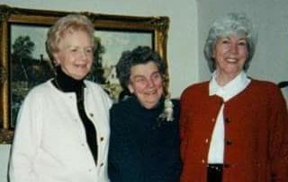 Mom with Beattie Hinton and Ginger Swanson.