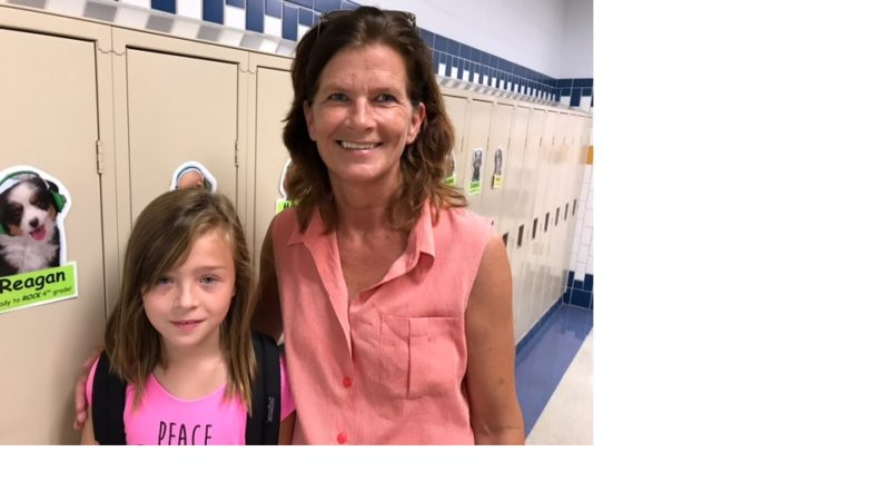 Pictured above is Pamela Gustafson and her student, Reagan.