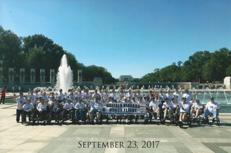 The Fenton History Center recently flew veterans to Washington D.C. While in D.C., veterans were able to visit historical memorials.