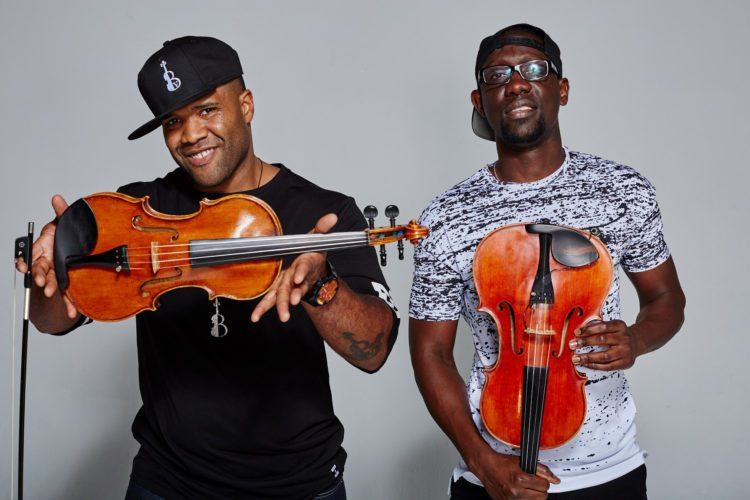 Black Violin is pictured.  Photo by Colin  Brennan