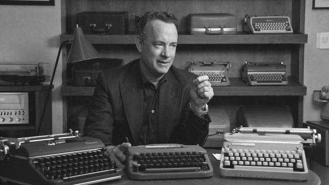 "Tom Hanks in ""California Typewriter."" Submitted photo"