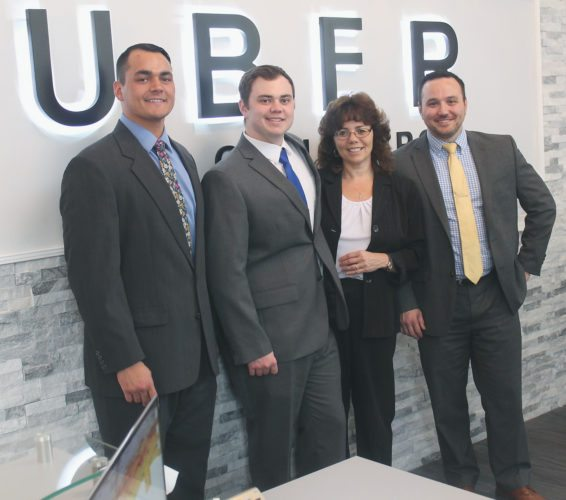Uber Law firm recently cut the ribbon at its new downtown location. Shane Uber started the business in 2013 after graduating from law school at Michigan State. P-J Photos by Jordan W. Patterson