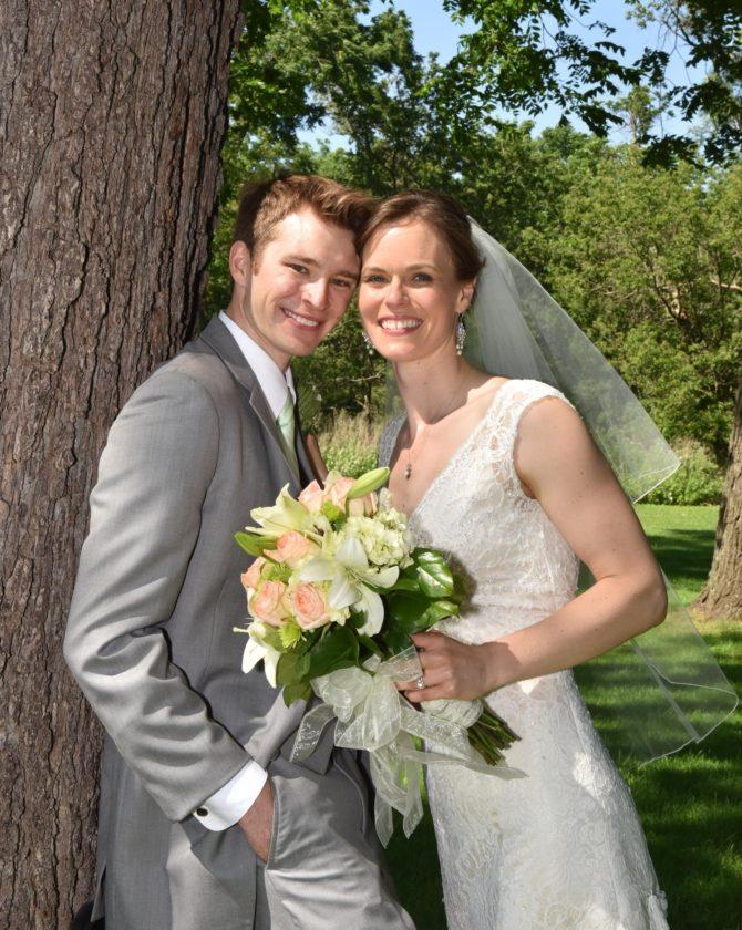Mr. and Mrs. Robert Stevens Jr.