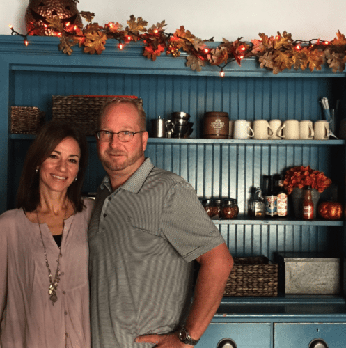 Sandy and Tim Mead have worked as a team since buying his parents' supermarket as newlyweds, adding The Office Restaurant a few years later. They have made many improvements over the years with the latest being a facelift to the interior of the restaurant. Photos by Beverly Kehe-Rowland