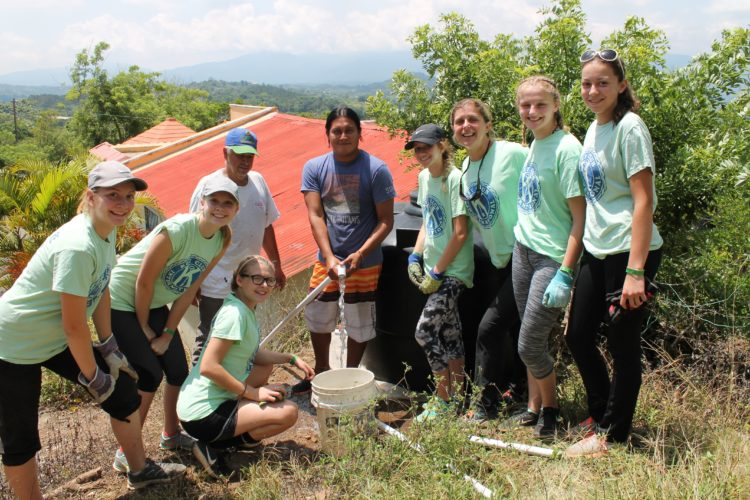 Falconer students in the Key Club traveled to the Dominican Republic to help install running to water to communities in need. The trip lasted 10 days and the students worked on two different work sites in Hatillo and and Crucero. Submitted photo