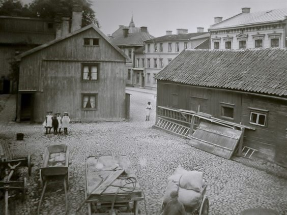 Jonkoping, Smaland, Sweden, circa 1870. Photo courtesy of Jonkoping website.