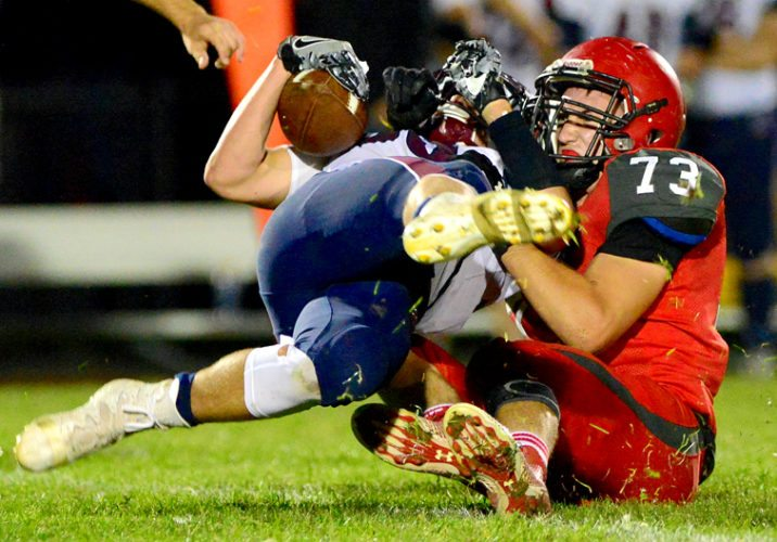 Maple Grove's Carter Russo was named the Class D Defensive Player of the Year. P-J file photo