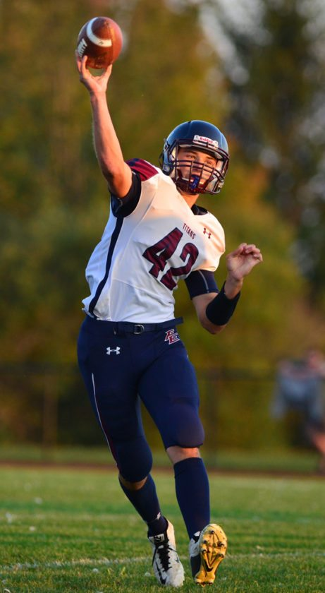 Franklinville/Ellicottville's Brock Blecha was named the league's Offensive Player of the Year. P-J file photo