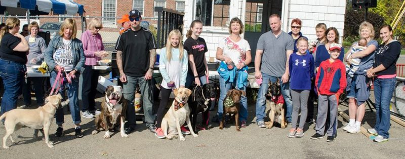 Pictured are participants of the Chautauqua County Humane Society Walk 4 Paws event. Photo by Cathy Panebianco and Alysa Papalia