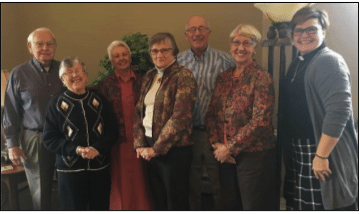 Pictured are planning committee members for the holiday korv dinner to be held at the Tree of Life Church on the Immanuel Lutheran campus.