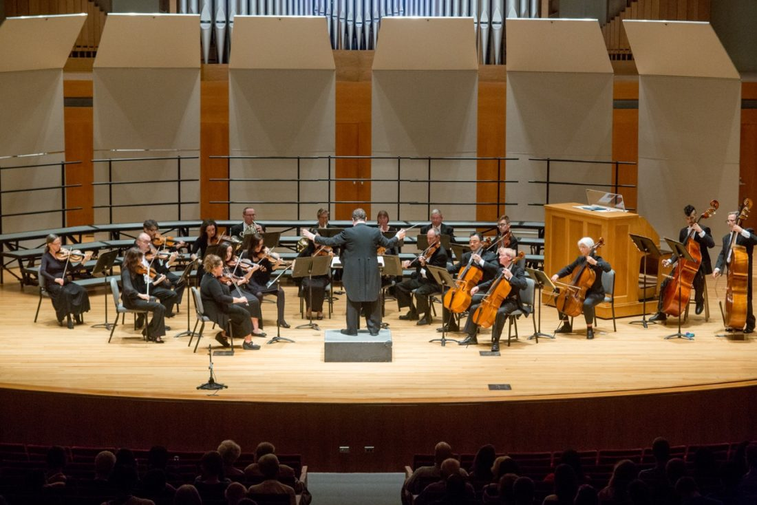 "For the second consecutive year, the Jamestown Concert Association will present the Western New York Chamber Orchestra and its ""Poinsettia Pops"" concert at the Reg Lenna Center for the Arts in honor of the holiday season. The concert will take place Wednesday, Dec. 6, beginning at 7:30 p.m. Submitted photos"