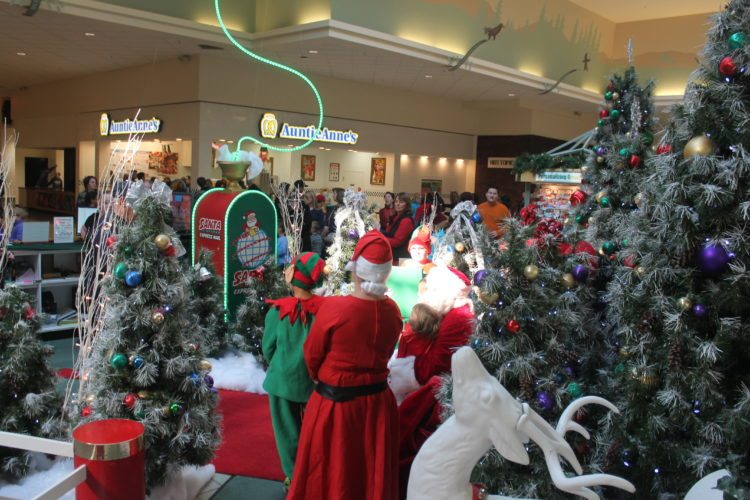 Shoppers gathered inside the Chautauqua Mall to capitalize on special deals during Black Friday.  P-J photos by Jordan W. Patterson