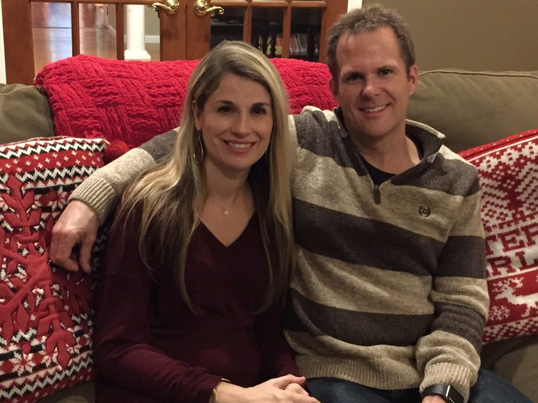 Jen and Mike Quimby are a team at home, at church and in life.