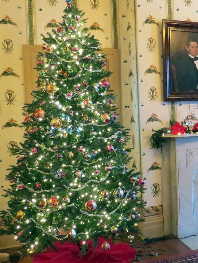 Holiday decorations can be found throughout the McClurg Mansion in Westfield, home of the Chautauqua County Historical Society and location of the 2017 Holiday Open House, which is 2-4 p.m. on Sunday.