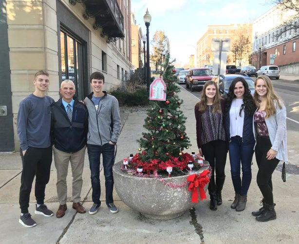 JHS Holiday Planter Project