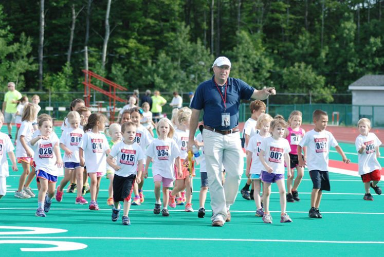 Among his many roles in track and field, David Reinhardt serves as president of the USATF Niagara Association and is the athletic director for the Chautauqua Striders. Submitted photo