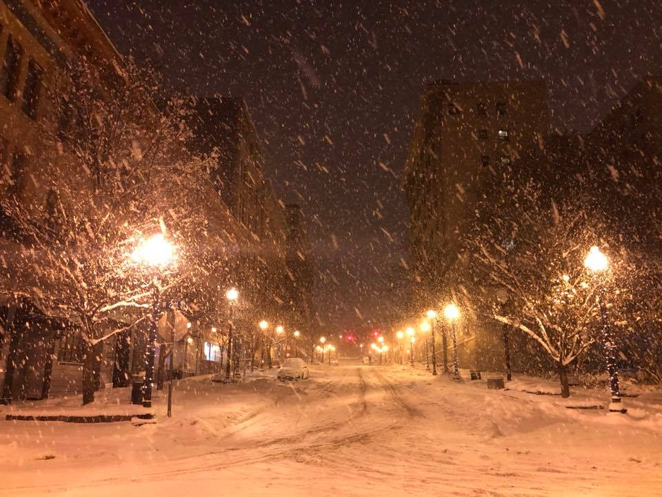 Lake effect snow warning issued for Jefferson County