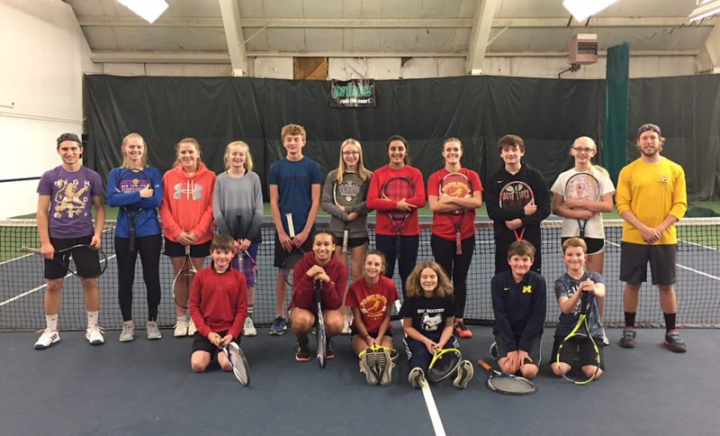 Above are students in the Wednesday night elite class at the Lakewood YMCA. Standing at far right is pro Tyler Beaton. Submitted photo