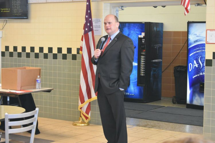 Rep. Tom Reed, R-Corning, said he supported a resolution in the House of Representatives that would help avoid another government shutdown.  P-Jfile photo