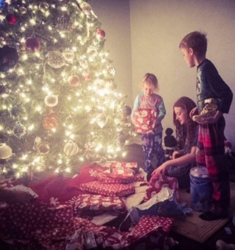 Christmas 2016 at the Robison house.