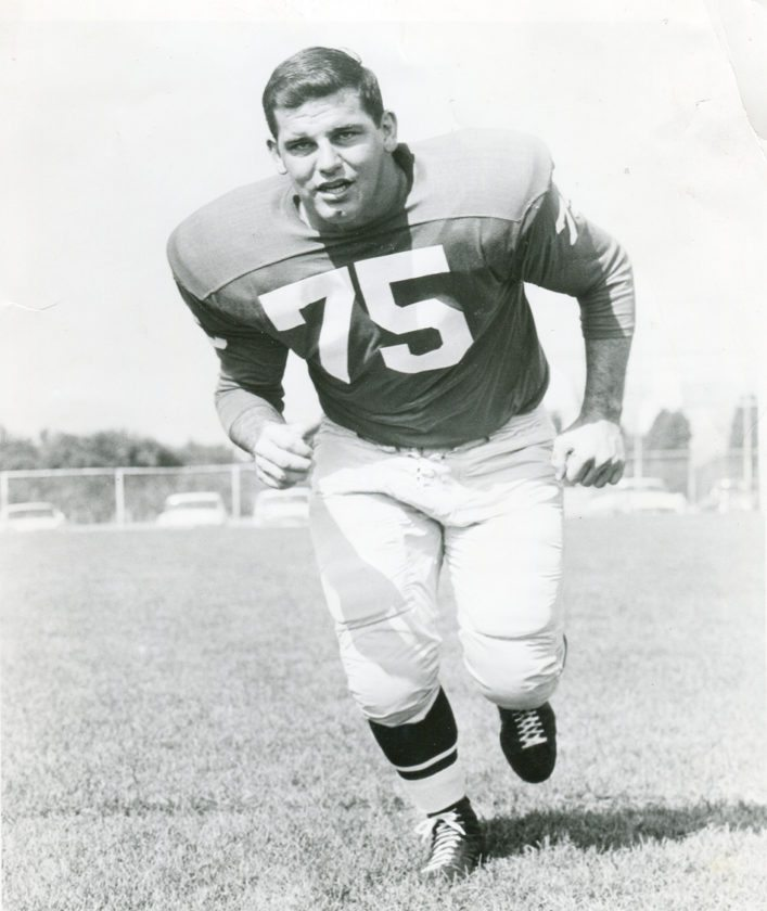 Jamestown native Jim McCusker was a member of the Philadelphia Eagles, who won the National Football League championship on Dec. 26, 1960 — 57 years ago today. Photo courtesy of the Philadelphia Eagles