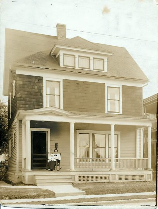 711 Newland built by great grandfather Johnson for his son Ben and bride Martha, circa 1915.