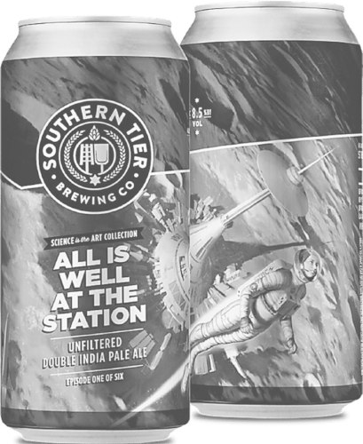 "Pictured are the new Southern Tier Brewing Company ""Science is the Art"" double IPA cans.  Submitted photo"