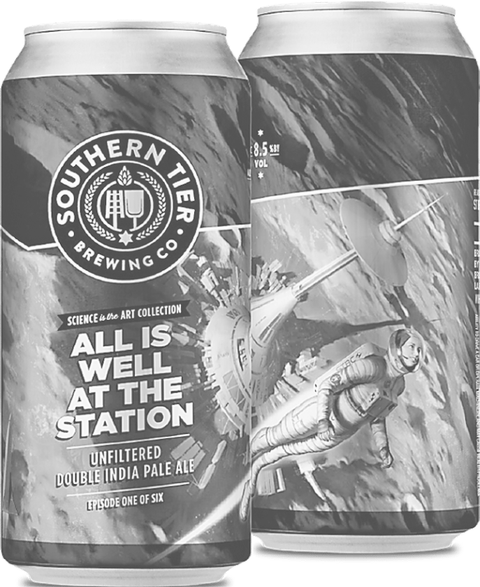 """Pictured are the new Southern Tier Brewing Company """"Science is the Art"""" double IPA cans.  Submitted photo"""