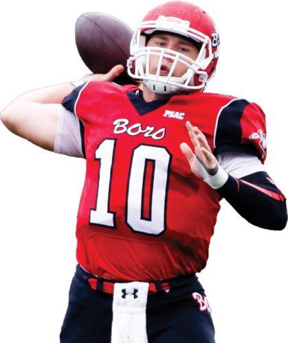 Edinboro quarterback Jake Sisson has been selected to play in this weekend's Dream Bowl. Photo courtesy of Edinboro University
