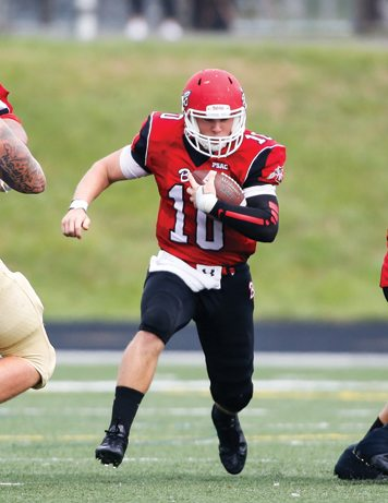 Edinboro quarterback Jake Sisson has been selected to play in this weekend's Dream Bowl. Photo courtesy of Edinboro University