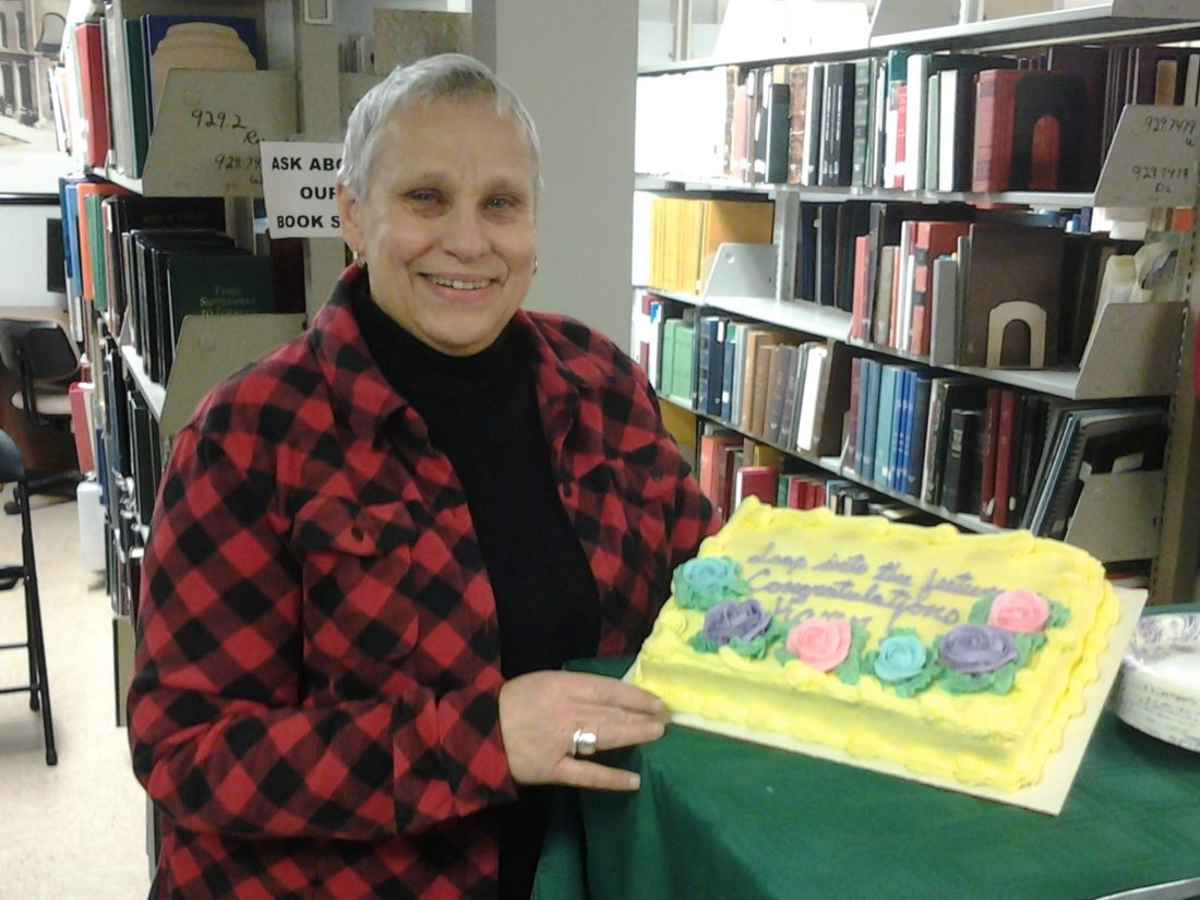 Karen Livsey of Fenton History Center has retired after 30 years of service.
