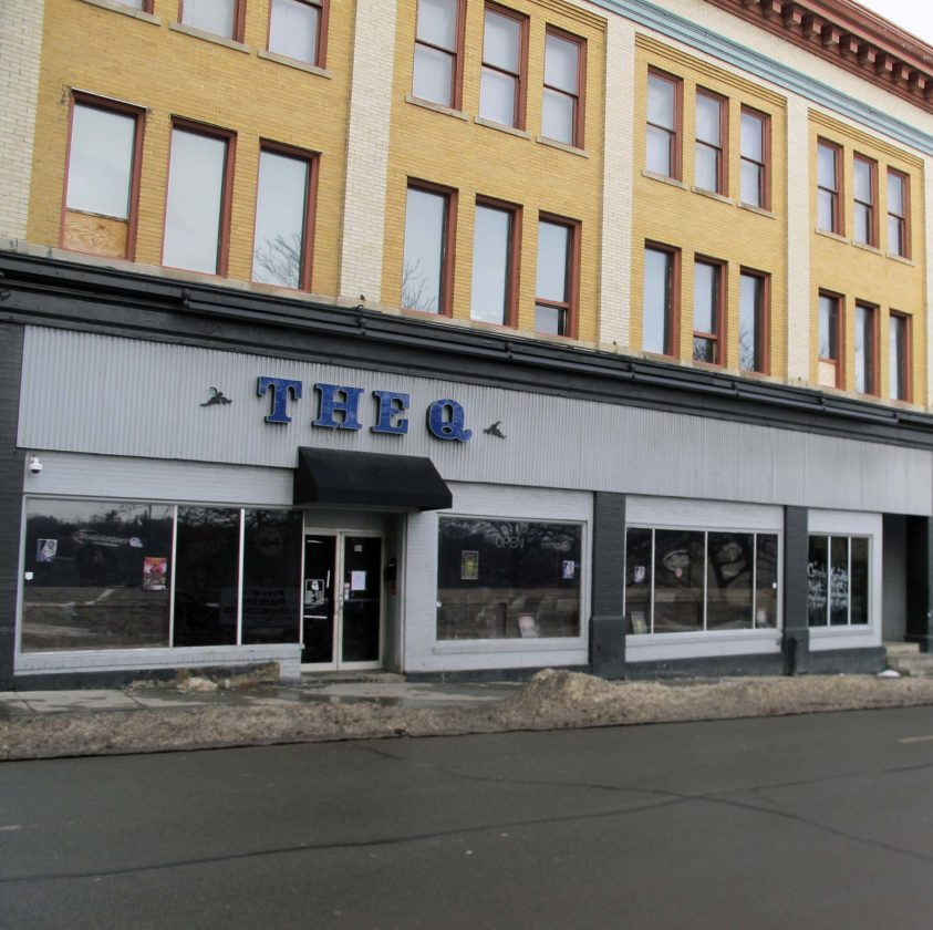 Three businesses in downtown Jamestown, The Q at 104 W. Second St.; Mojo's Music Bar at 104 E. Second St.; and Miley's Old Inn at 845 E. Second St.,  are currently for sale.