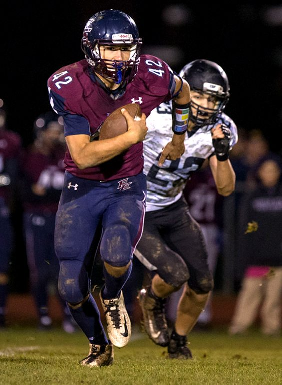 Franklinville/Ellicottville quarterback Brock Blecha and the Titans were undefeated until losing to Maple Grove in the Section VI Class D championship game. P-J photo by Tim Frank