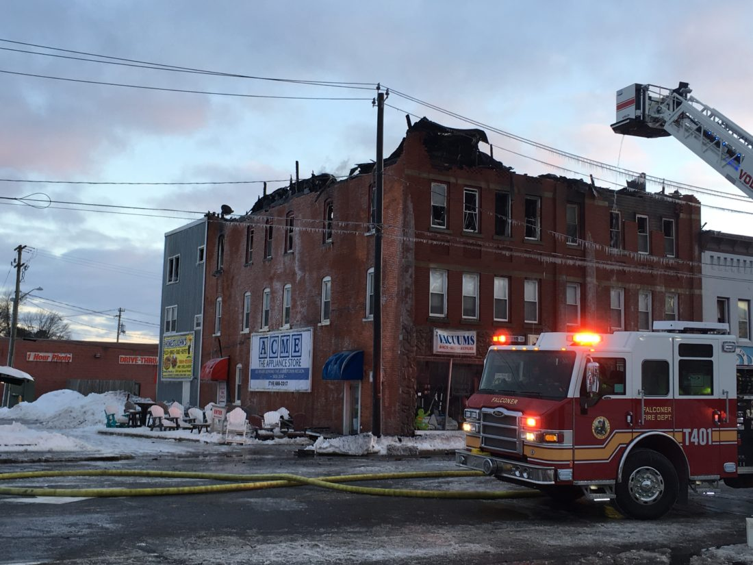 An emergency building will be demolished on the Robespierre in Petersburg 11