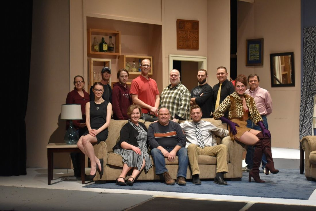 """The Lucille Ball Little Theatre will open its production of the 1960 Broadway musical """"Send Me No Flowers"""" with 7:30 p.m. performances Friday and Saturday, and a 2 p.m. matinee Sunday. Photos by Aubrey Russell"""