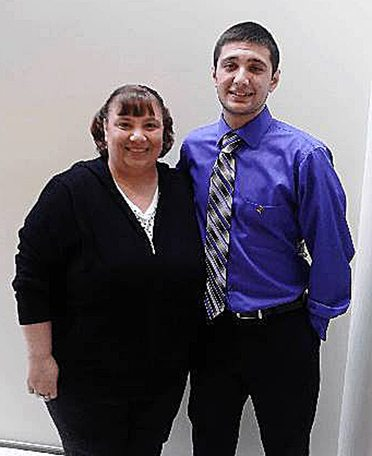 Cody and his mom, Lisa, are all smiles. Submitted photo