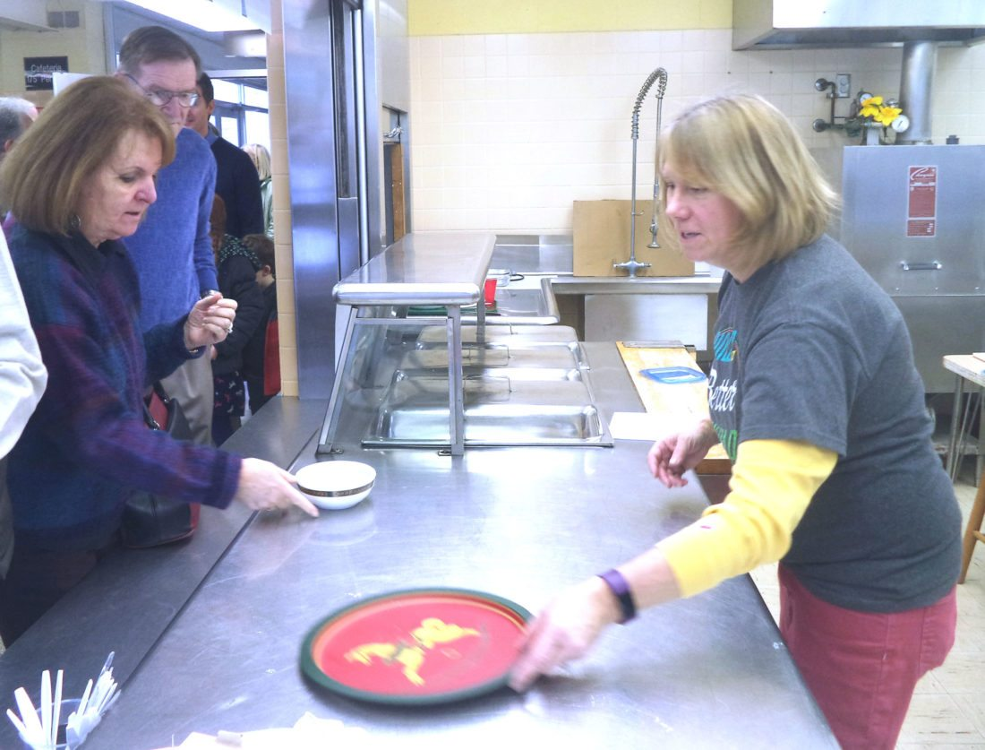 The soupfest has been an annual event for the Alexander Findley Community Library for about 20 years. Around 130 people attended the event this year.  Photo by David Prenatt
