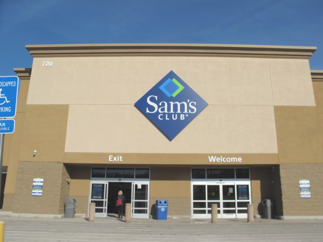 Sam's Club opened on West Fairmount Avenue for the last time Friday, about two weeks after the company announced it was closing stores across the country. Most of the shelves were bare after most items were discounted to reduce inventory. The local store, which has been open for about two decades, employed more than 100 workers.   P-J photo by Gavin Paterniti
