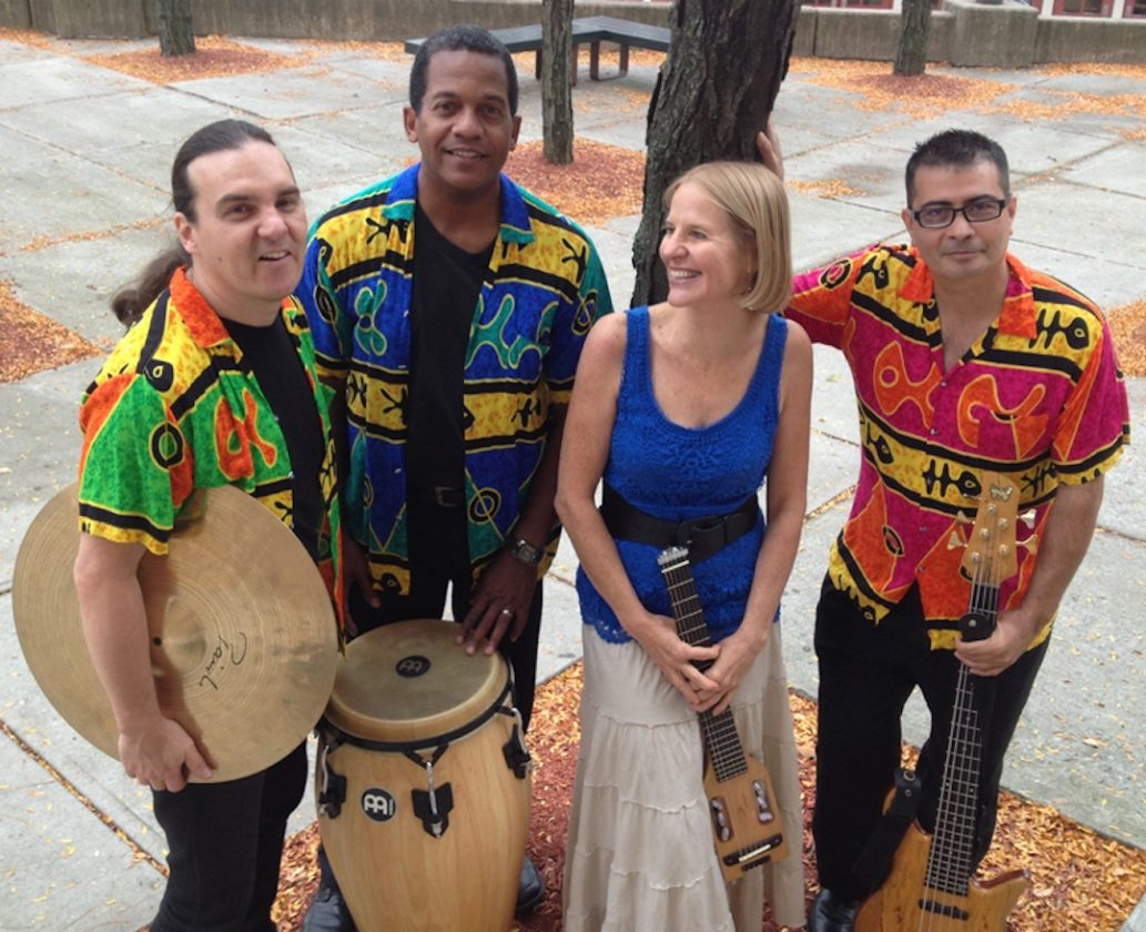 Tropicante, a four-piece ensemble who's members hail from Panama and Colombia, will perform their lively and upbeat music for students of Jamestown Community College's Jamestown campus in an 8-10 p.m. performance at the Student Union on Thursday, Feb. 8. Submitted photo