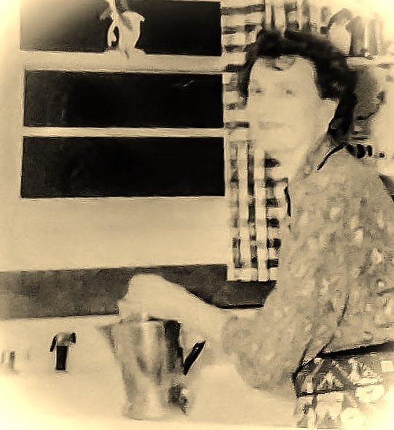 My grandmother Gunhild Forsberg circa 1960.