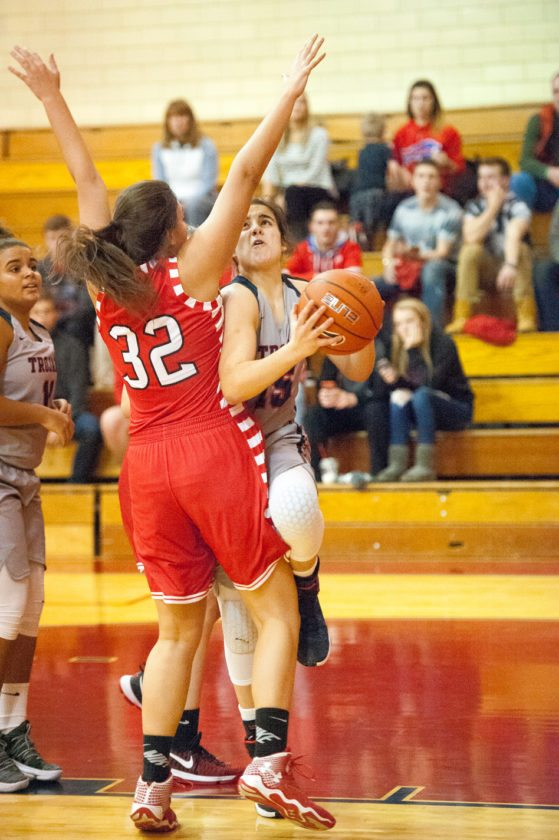 Freshman Sofia Genareo is averaging 9.3 points, 5.5 rebounds, 2.9 assists and 2.5 steals per game for Southwestern. P-J file photo