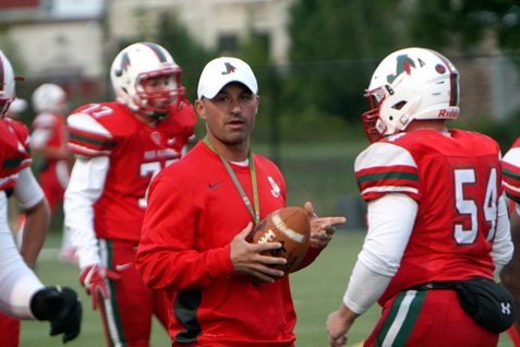 Jamestown coach Tom Langworthy will be facing mostly brand-new opponents during the 2018 football season. P-J file photo