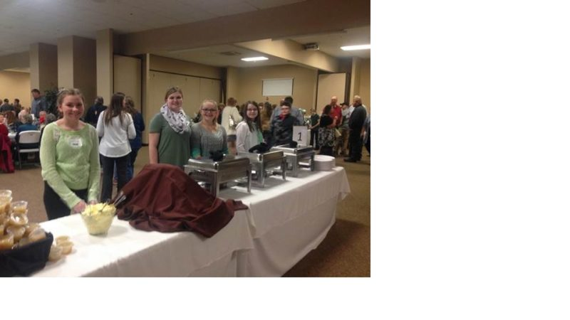 4-H members are pictured at last year's 4-H Green Tie Affair. The 2018 benefit will be Sunday, Feb. 25.