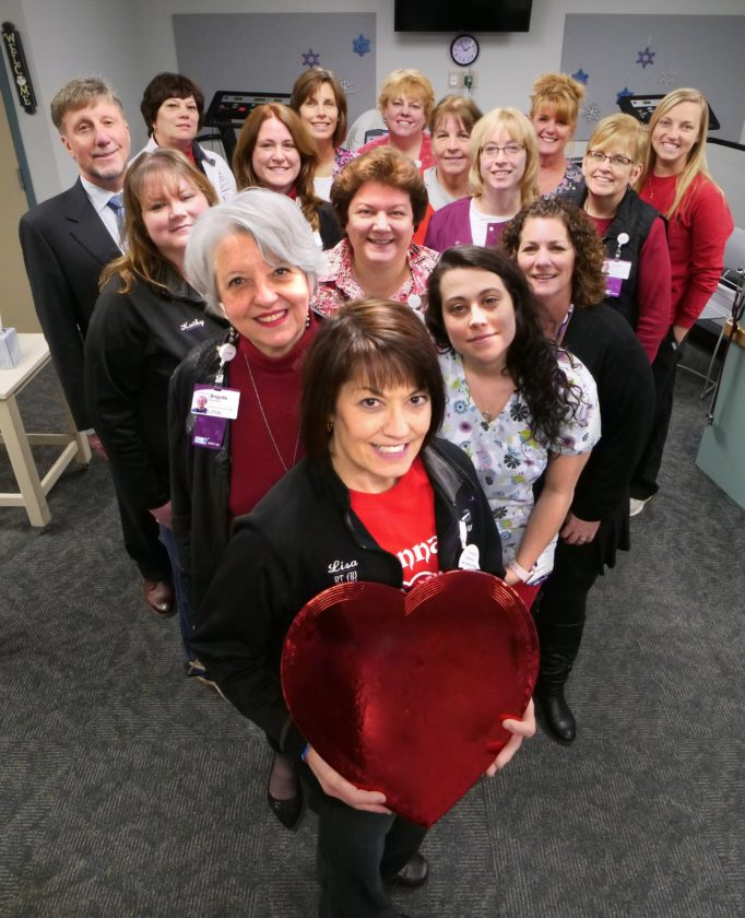 The UPMC Chautauqua WCA heart team will offer free blood pressure screenings during February American Heart Month.