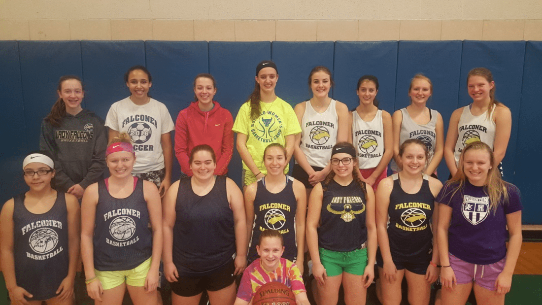 The Falconer Lady Falcons will host the eighth annual Hoops for Hospice event on Tuesday.