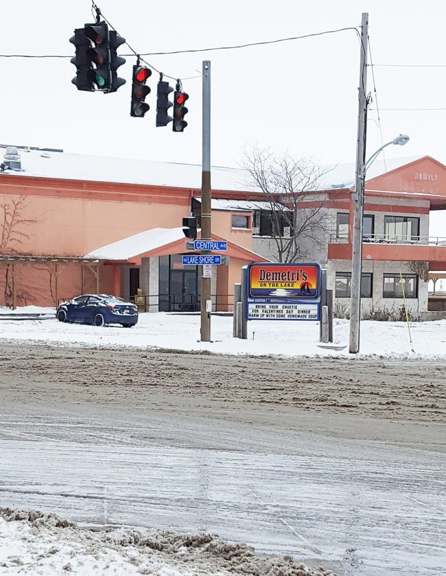 The intersection at Central Avenue and Lake Shore Drive will get a face lift after the city of Dunkirk received a $50,000 state grant. Photo by Nicole Gugino